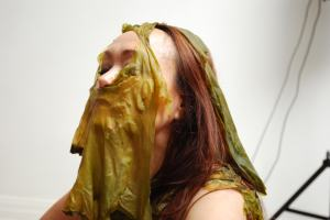 Performance, Seaweed from Sisimiut and Nuuk, Århus Artcentre June 2012